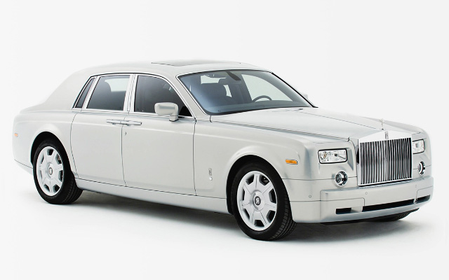 Car rental Rolls Royce