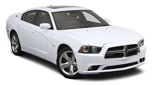 Dodge Charger car rental at Miami Airport, USA