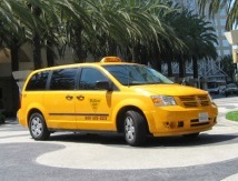 Car rental at Miami Airport, USA
