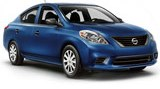 Nissan Versa car rental at Miami Airport, USA