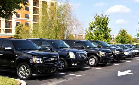 Car rental at Orlando Airport, USA