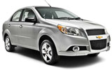 Chevrolet Aveo car rental at Orlando Airport, USA