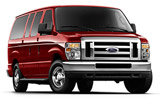 Ford Ecoline car rental at Orlando Airport, USA