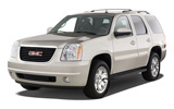 GMC Yukon car rental at Denver Airport, USA