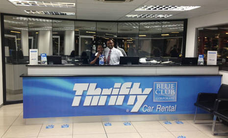 Book in advance to save up to 40% on Thrifty car rental in El Paso - Dyer Suite (Texas)