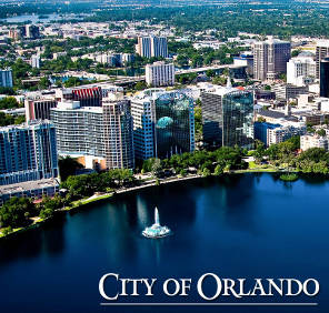 Downtown Orlando car rental, USA