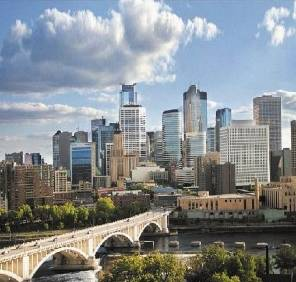 Minneapolis in Minnesota car rental, USA